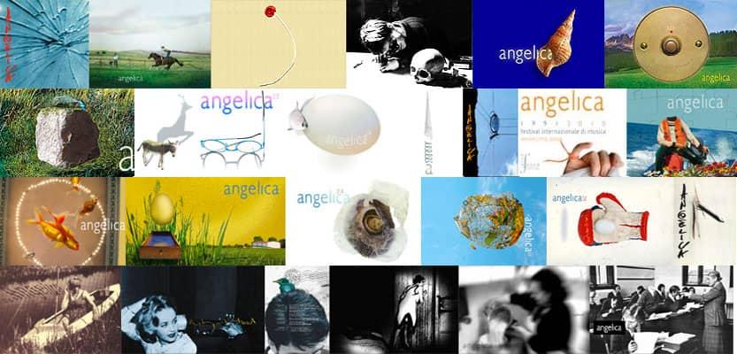 Cartoline delle varie edizioni del Festival AngelicA
